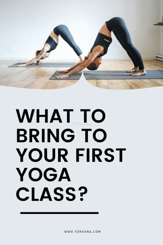 What to Bring to Your First Yoga Class