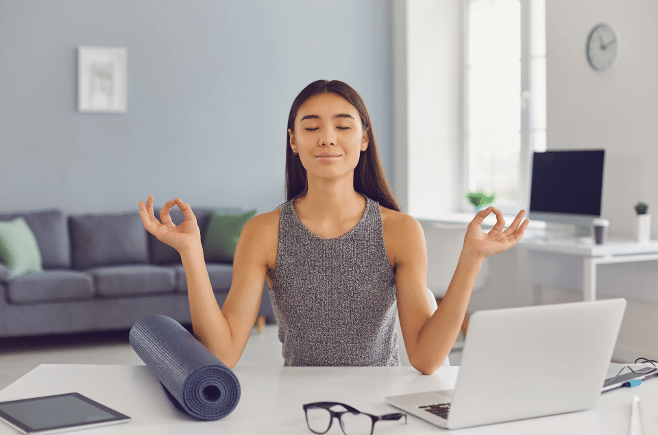 Yoga Poses For Office Workers